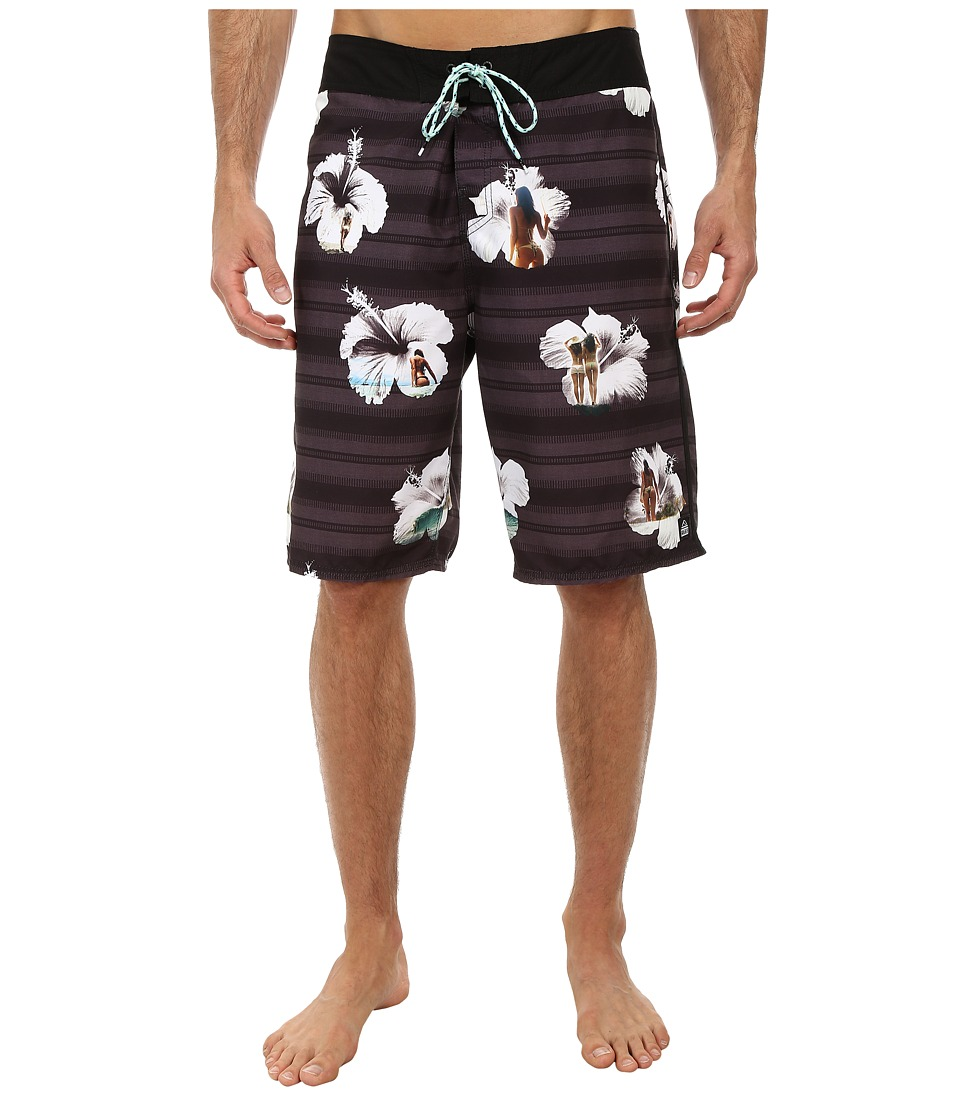 Reef - Tropic Boardshorts (Black) Men