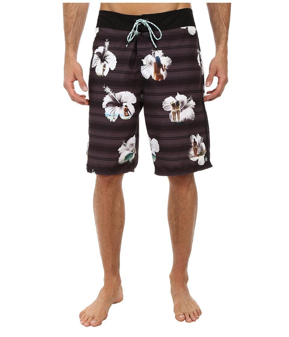 Reef - Tropic Boardshorts (Black) Men's Swimwear