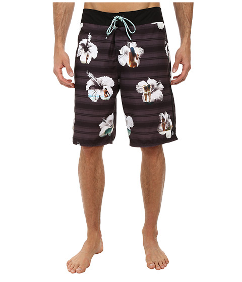 Reef - Tropic Boardshorts (Black) Men's Swimwear