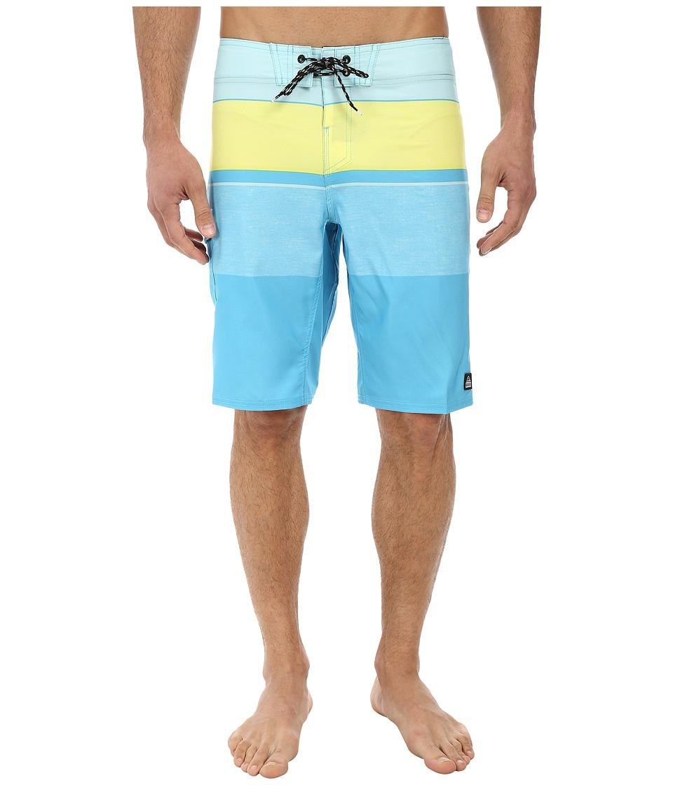 Reef - Chu-Srin Boardshorts (Blue) Men's Swimwear