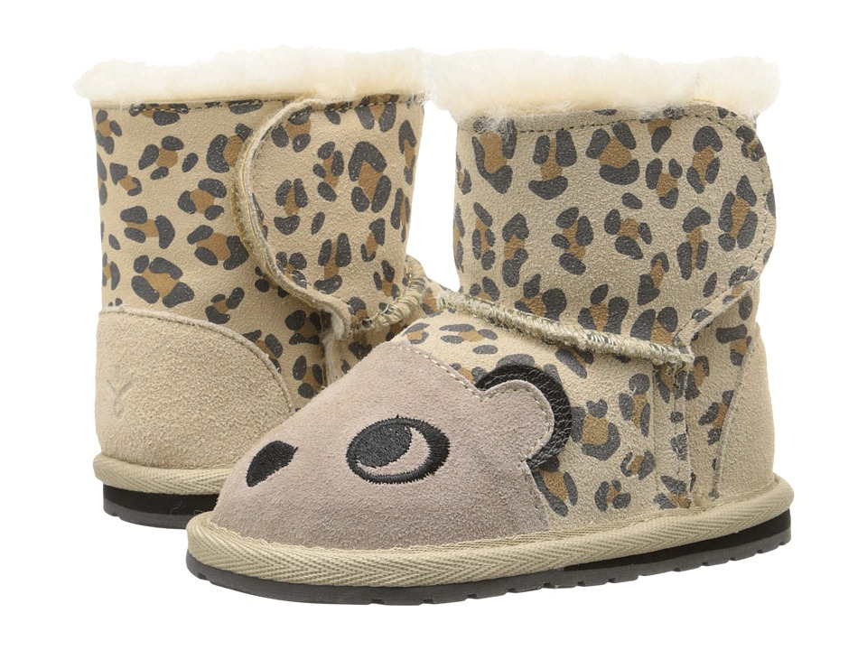 EMU Australia Kids - Walker Cheetah (Infant) (Sand) Girls Shoes