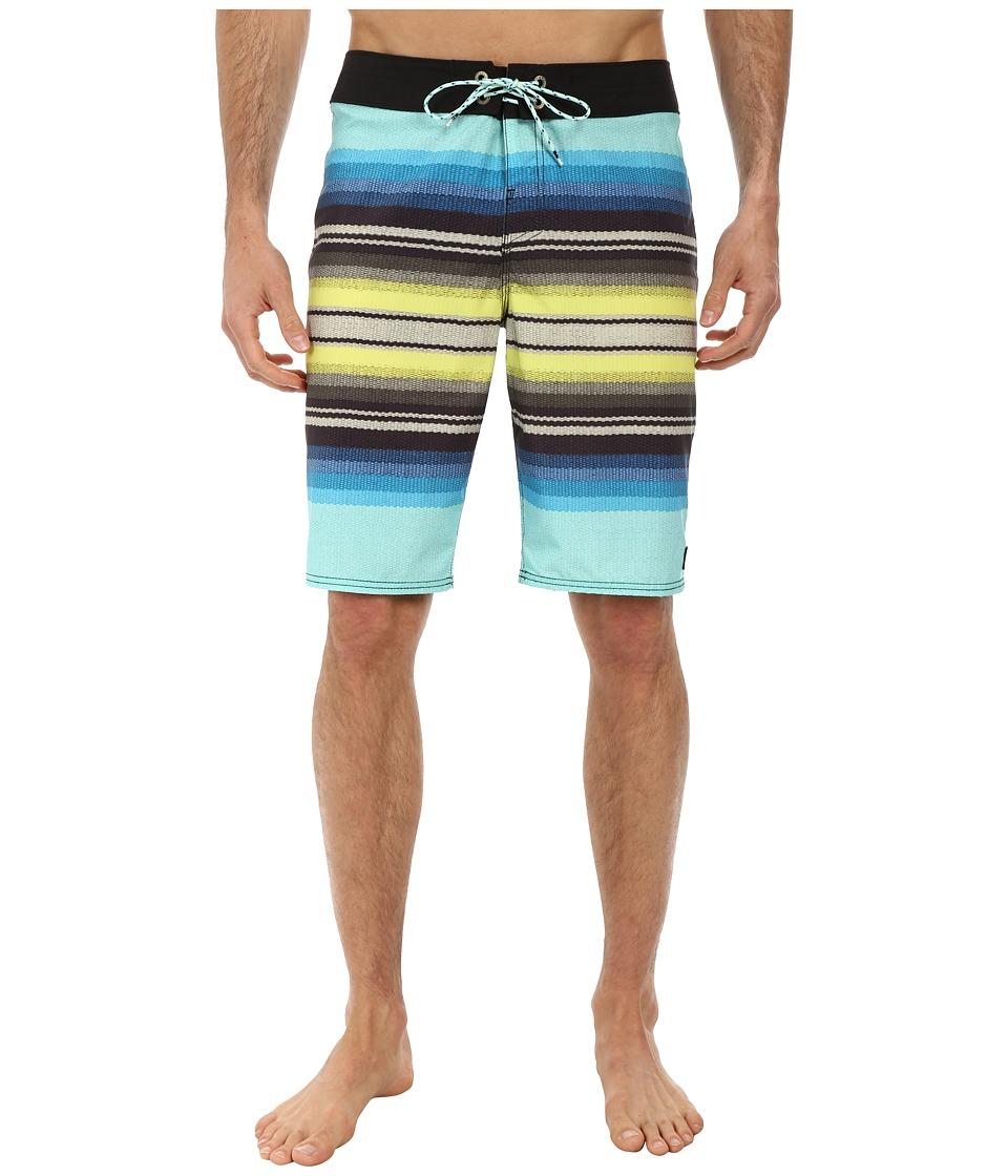 Reef - Chumash Boardshorts (Blue) Men's Swimwear