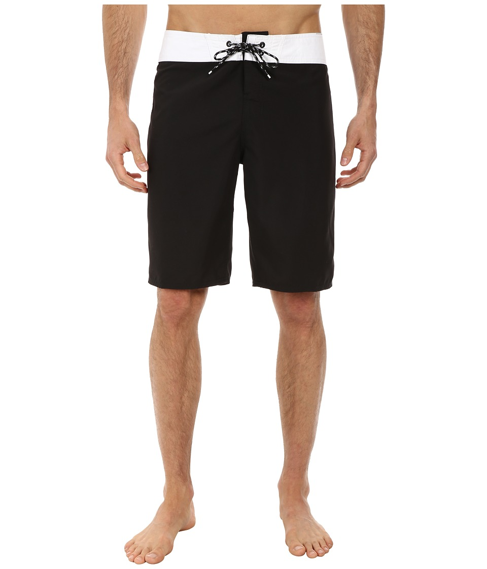 Reef - Shacktron Boardshorts (Black) Men's Swimwear