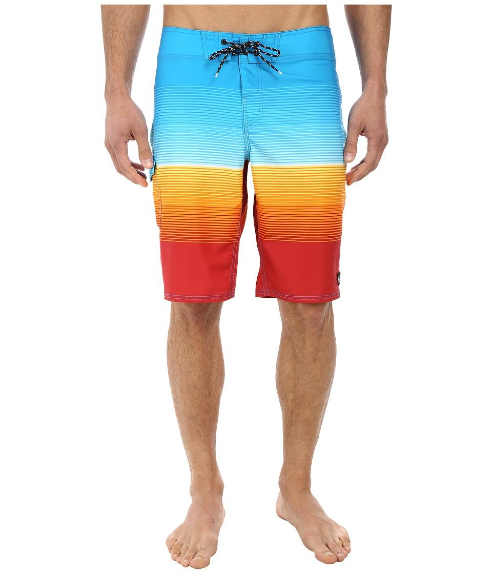 Reef - Mission Boardshorts (Blue) Men's Swimwear