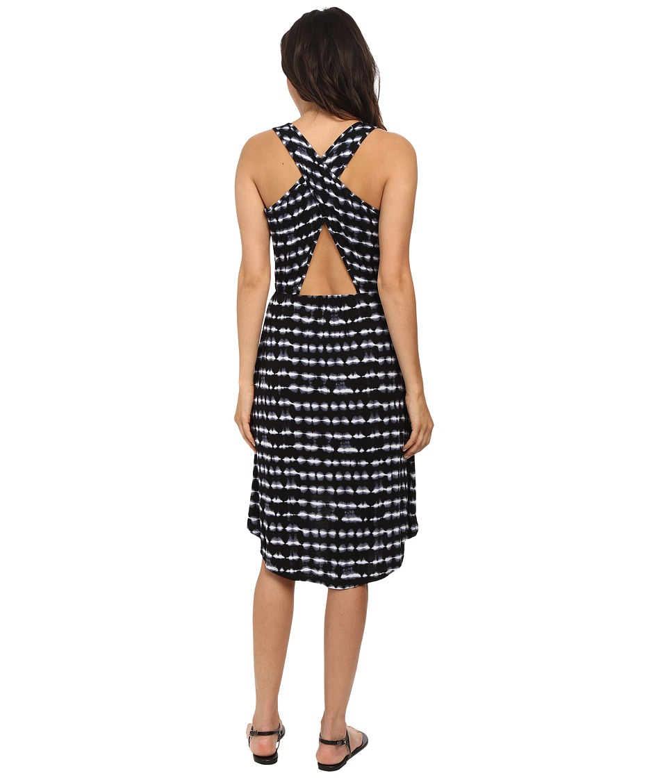 kensie - Tie-Dye Dress KS7K7616 (Black Combo) Women