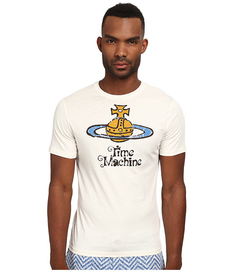Vivienne Westwood MAN - Iconic Tee Shirt (Off White) Men's T Shirt