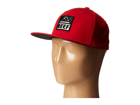Reef - Classic Block II Cap (Red) Caps
