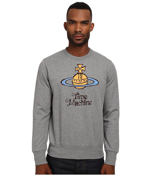 Vivienne Westwood MAN - Iconic Sweatshirt (Grey Melange) Men's Sweatshirt