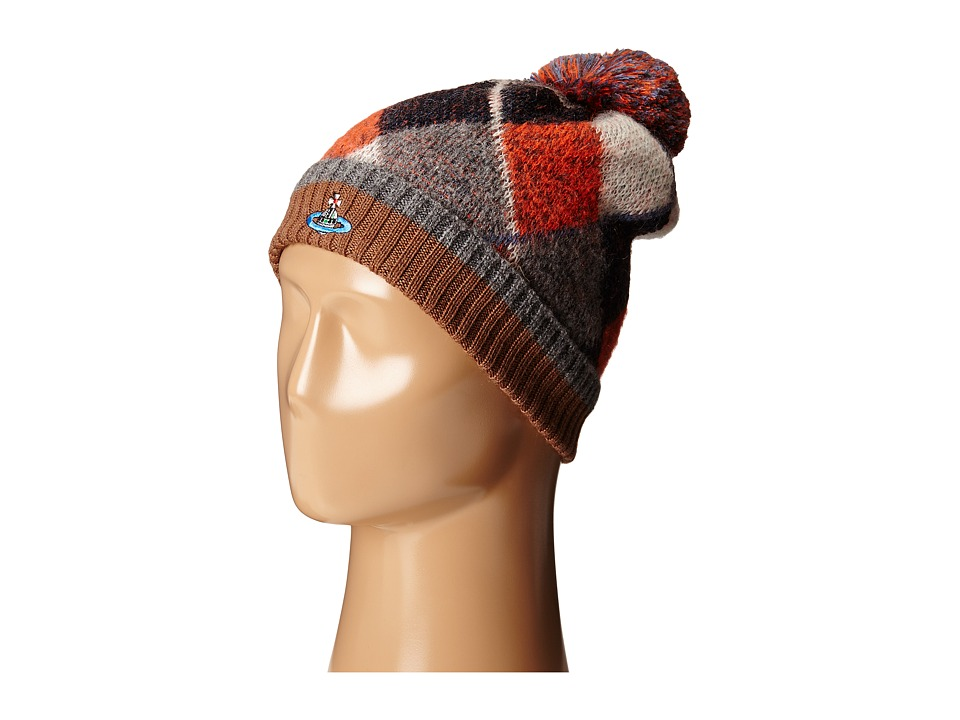 Vivienne Westwood MAN - Arglye Beanie Hat (Multi) Beanies