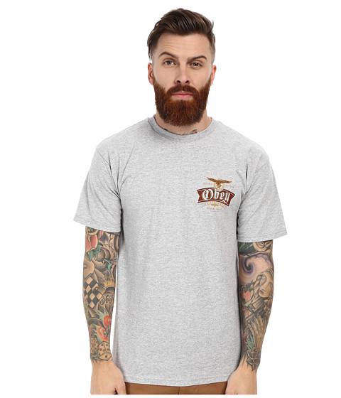 Obey - Extra Bitter Since 1989 Tee (Heather Grey) Men's T Shirt
