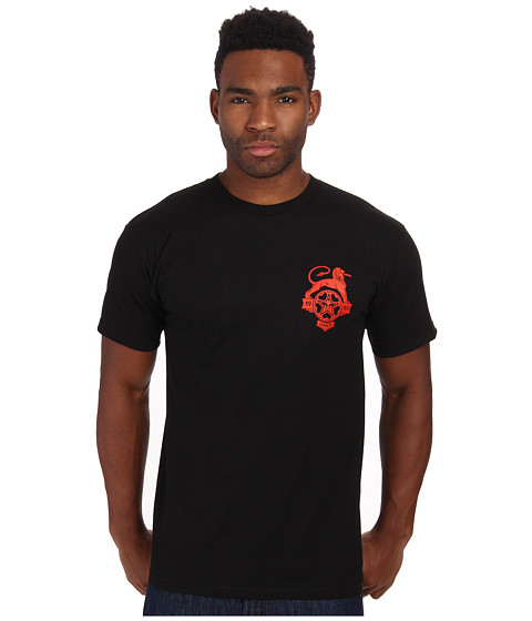 Obey - Industry Lion Tee (Black) Men