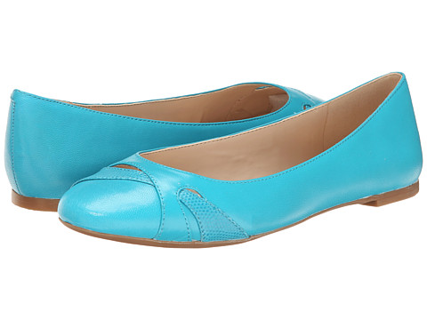 Nine West - Acrobat (Turquoise/Turquoise Leather) Women