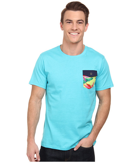 Reef - Palket Tee (Aqua) Men's T Shirt