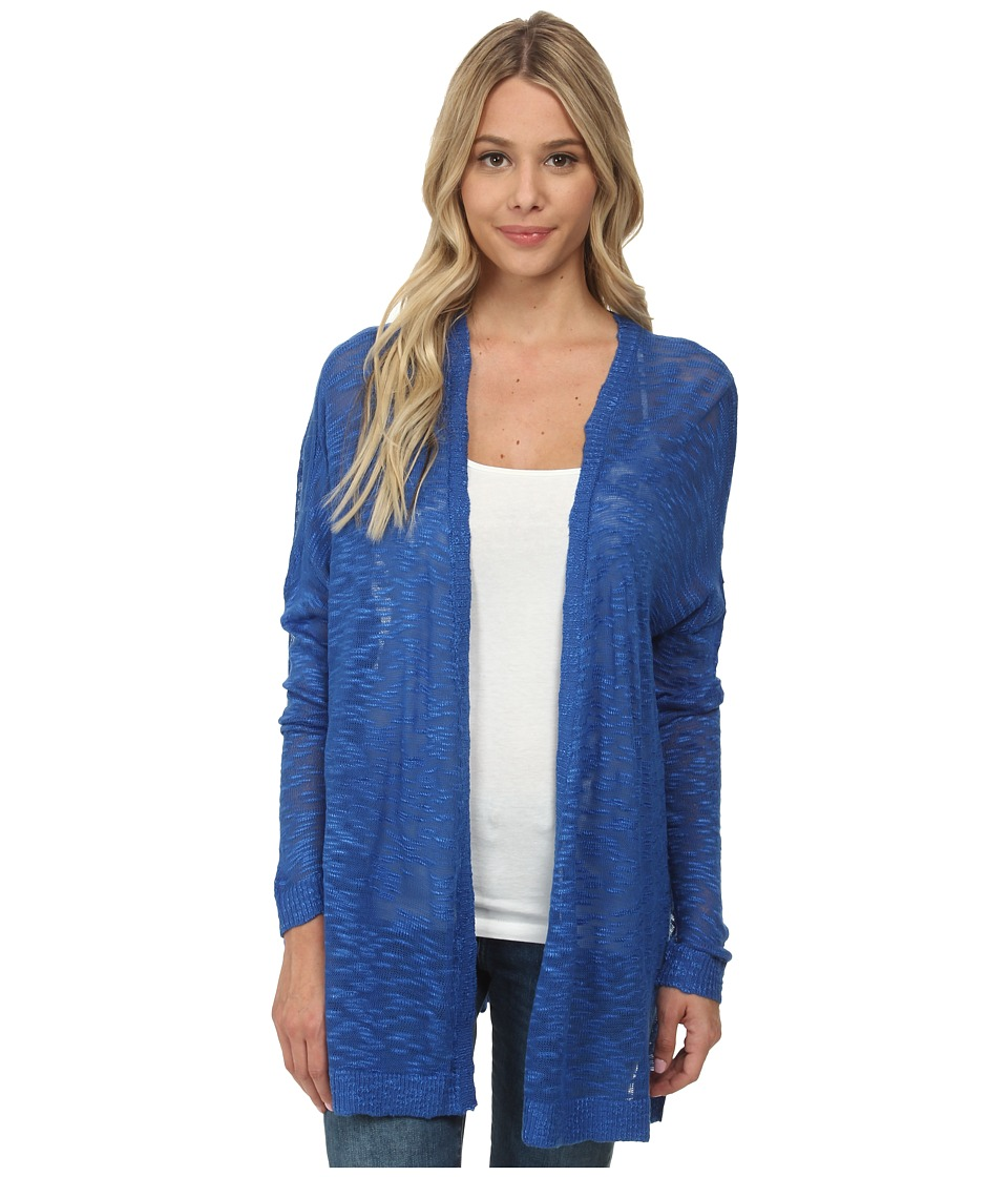 kensie - Fine Gauge Cardigan KS6K5001 (True Blue) Women's Sweater
