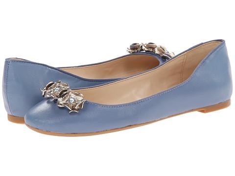 Nine West - Amanda (Blue/Blue Leather) Women