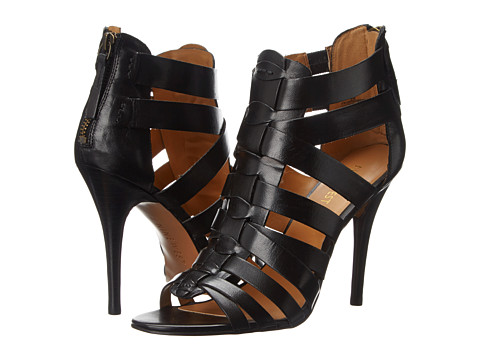 Nine West - Anthurium (Black Leather) High Heels