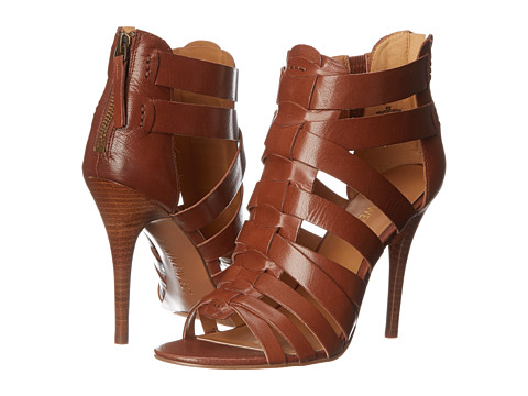 Nine West - Anthurium (Brown Leather) High Heels