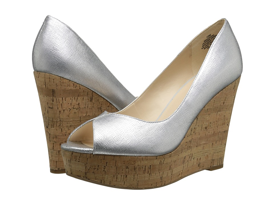 Nine West Audora (Silver Metallic) Women