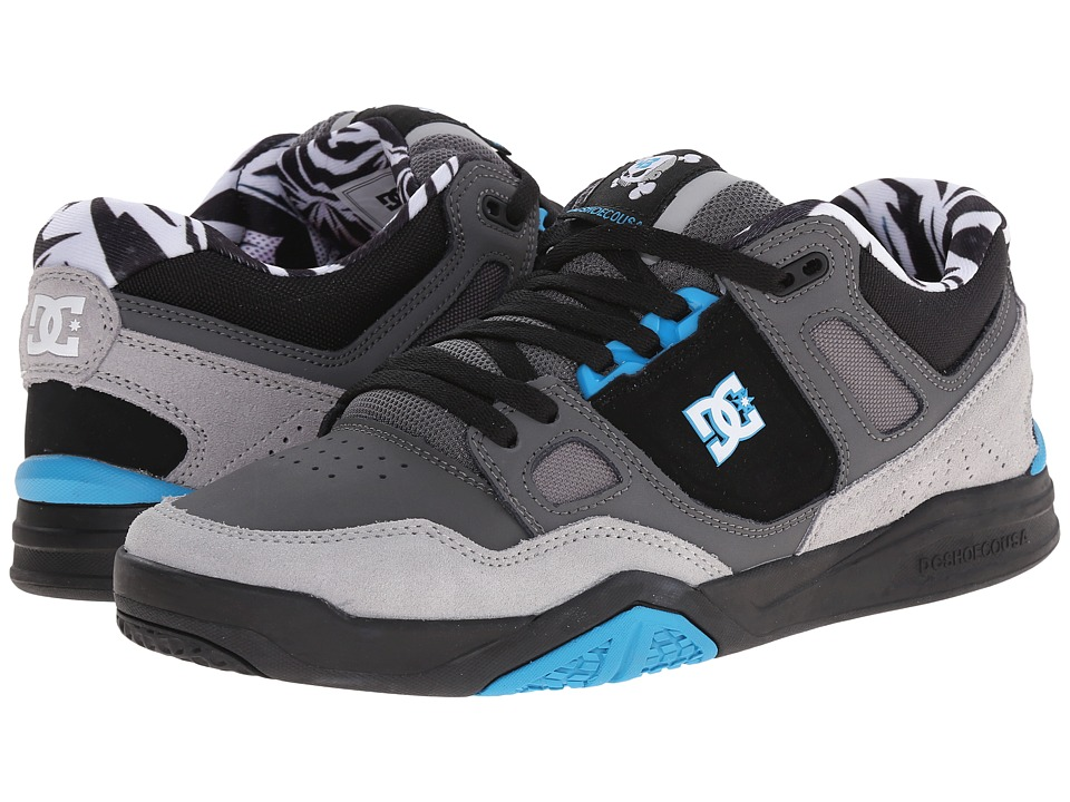 DC - Stag 2 KB (Cyan/Black) Men's Skate Shoes