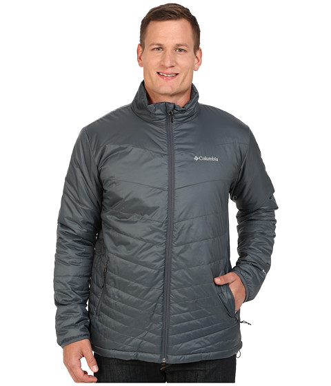 Columbia - Mighty Light Jacket - Extended (Graphite) Men's Jacket