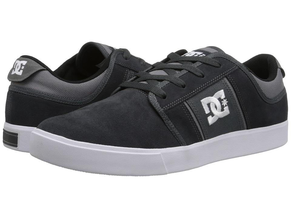 DC - RD Grand (Grey/White 1) Men's Skate Shoes