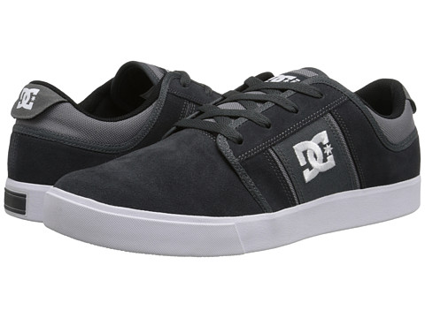 DC - RD Grand (Grey/White 1) Men's Skate Shoes