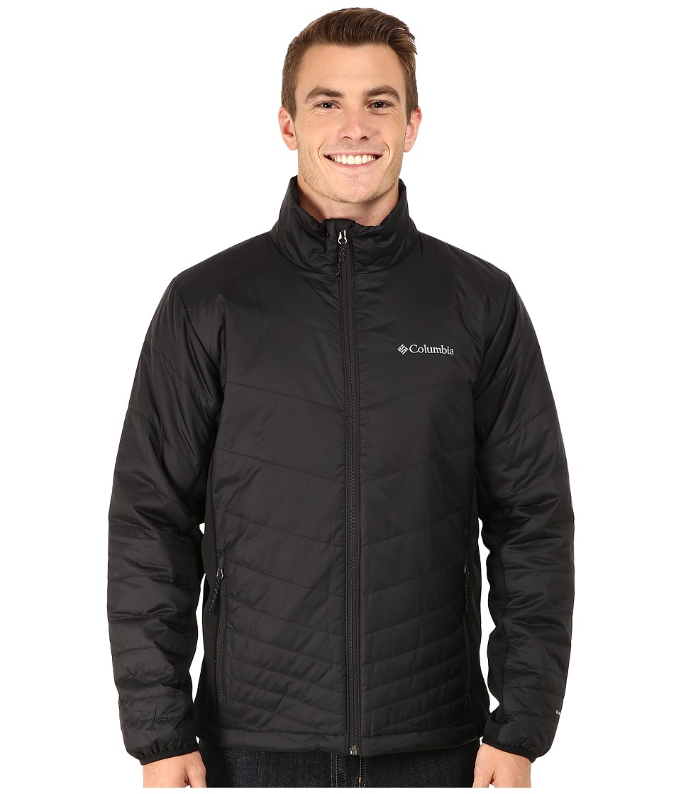 Columbia - Mighty Light Hybrid Jacket (Black) Men's Coat
