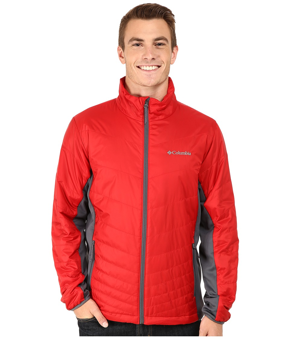 Columbia - Mighty Light Hybrid Jacket (Rocket/Graphite) Men's Coat