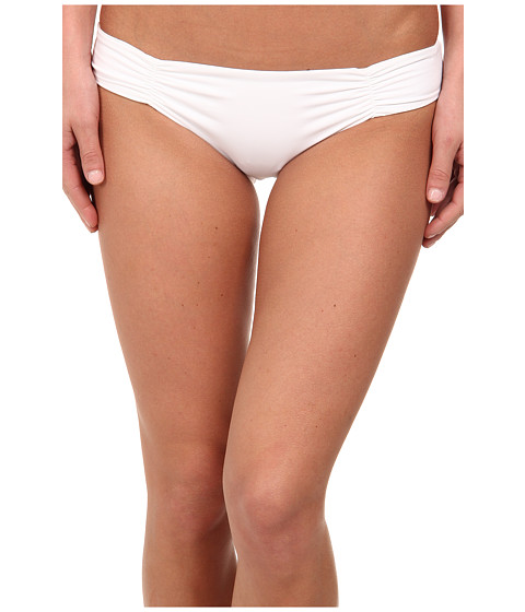 L*Space - Sensual Solids Monique Bottom (White) Women's Swimwear