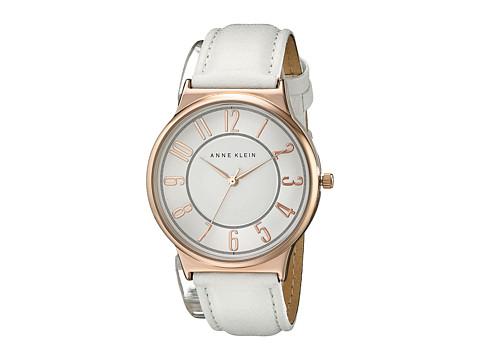 Anne Klein - AK-1928RGWT (White) Watches