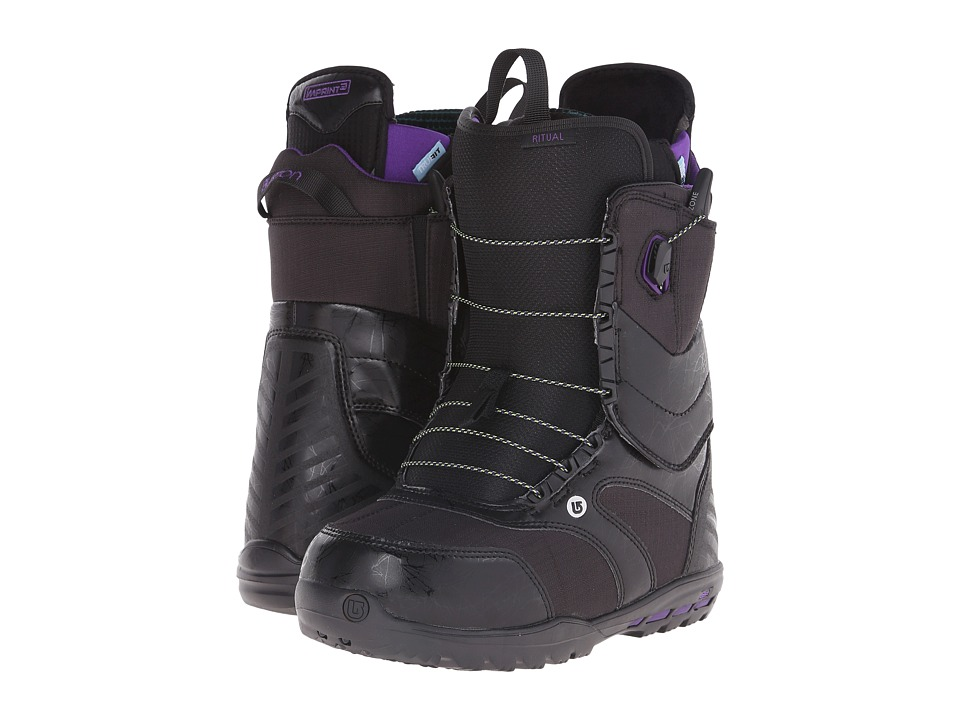 Burton - Ritual EST '16 (Black/Grape) Women's Cold Weather Boots