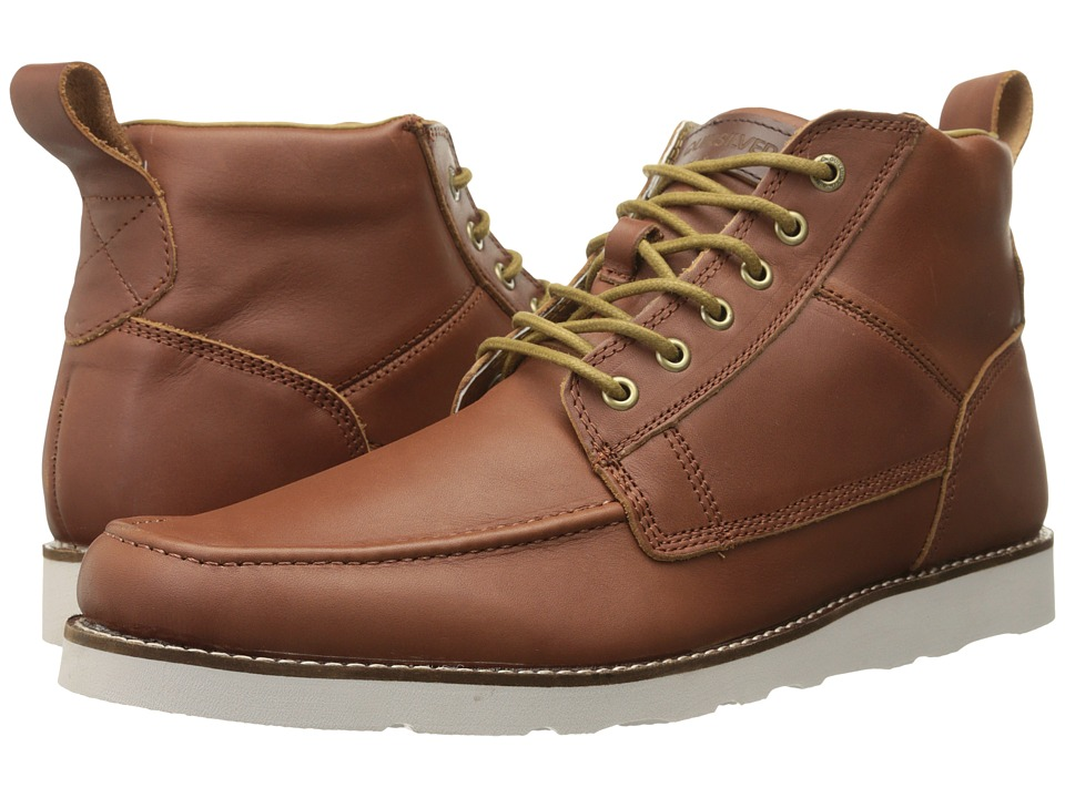 Quiksilver - Sheffield '15 (Brown/Brown/White) Men's Lace-up Boots