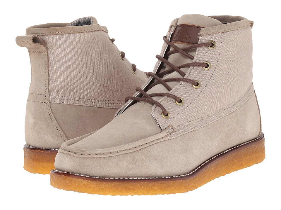 Quiksilver - Transom '15 (Tan Solid) Men's Lace-up Boots