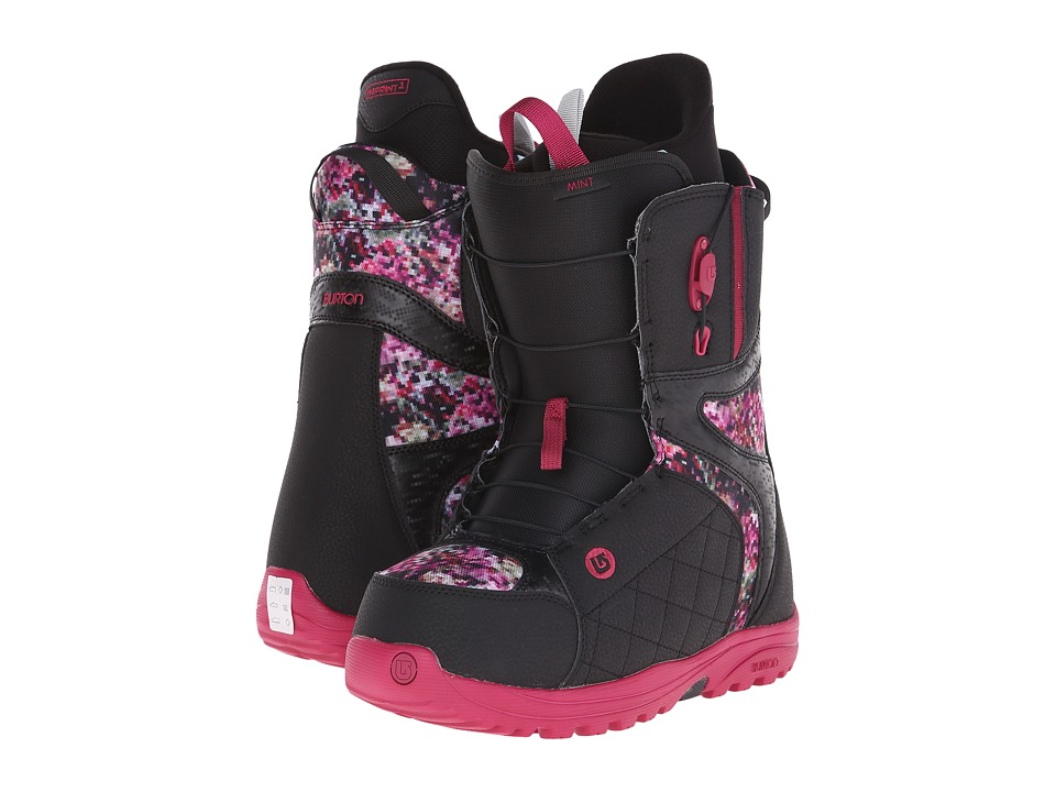 Burton - Mint (Black/Floral Pixel) Women's Snow Shoes