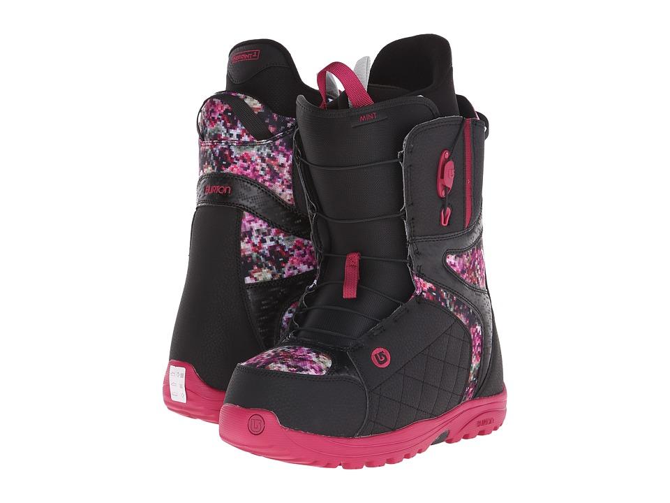 Burton - Mint (Black/Floral Pixel) Women's Snow Shoes