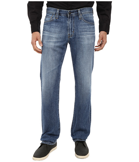 AG Adriano Goldschmied - Prot g Straight Leg Denim in 13 Years Humid (13 Years Humid) Men