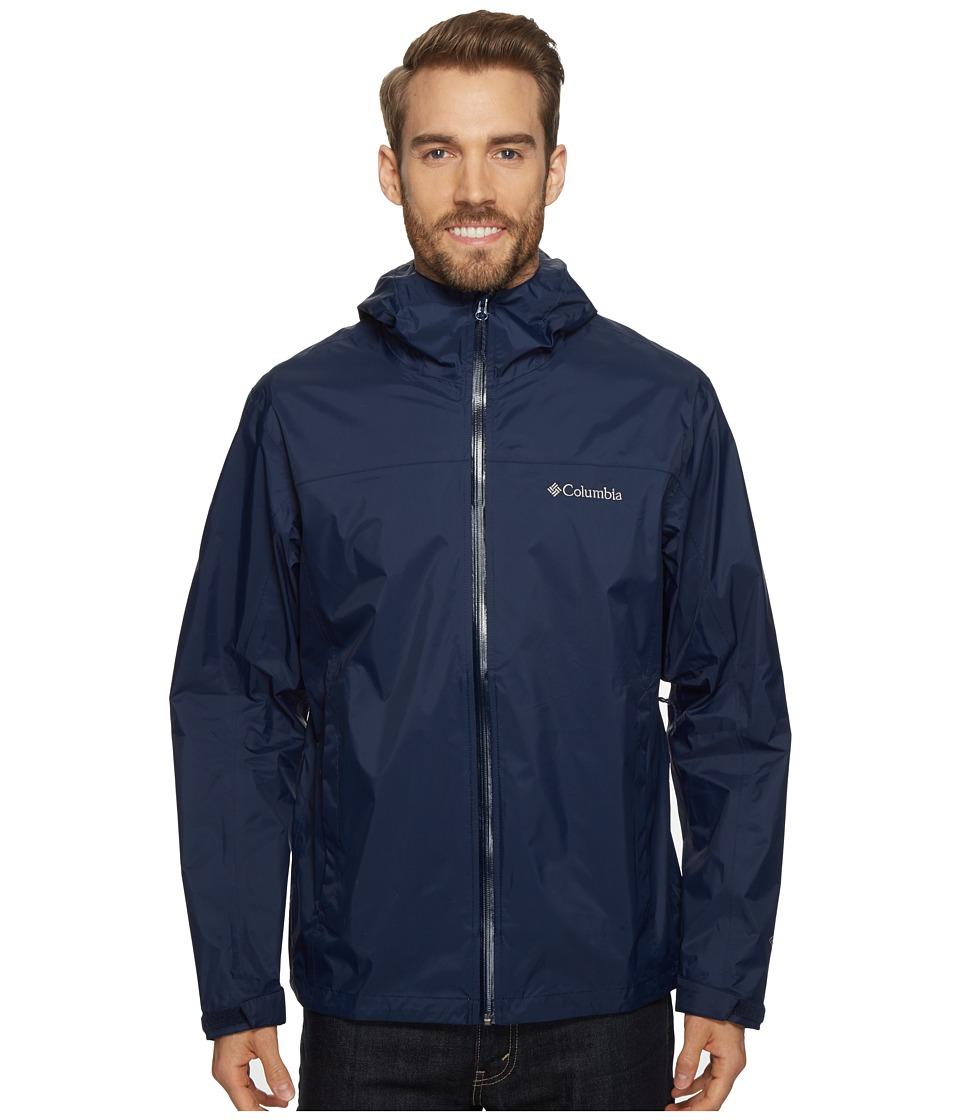Columbia - EvaPOURationtm Jacket (Collegiate Navy) Men's Coat