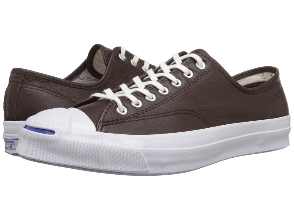 Converse - Jack Purcell Signature Ox (Burnt Umber/White/Natural) Lace up casual Shoes
