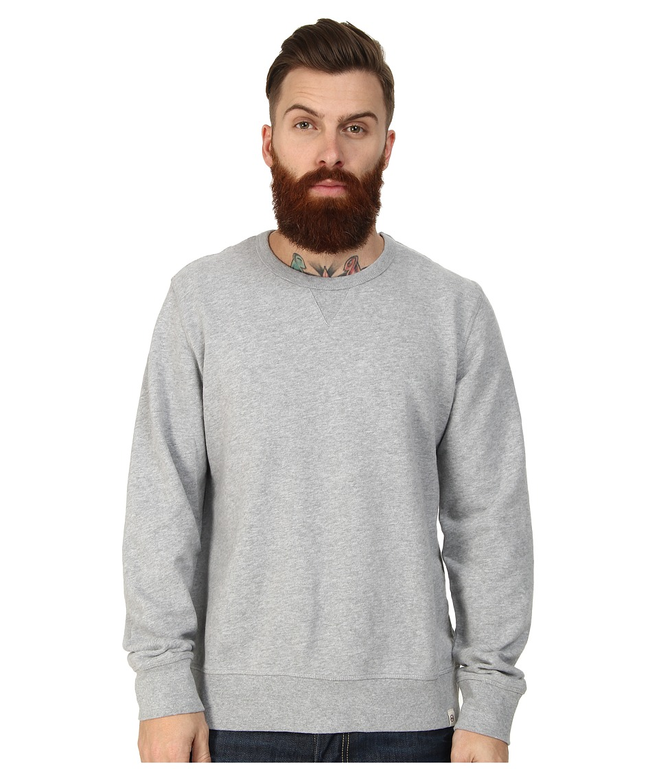 AG Adriano Goldschmied - Cabin Pocket Sweatshirt (Heather Grey) Men