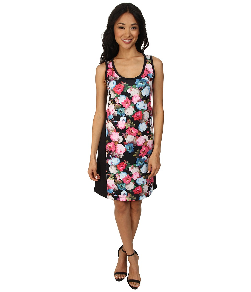 Nally & Millie - Sleeveless Floral Dress (Multi) Women's Dress