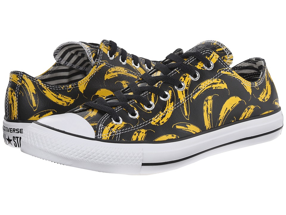 Converse - Chuck Taylor All Star Ox - Andy Warhol (Black/White/Freesia) Lace up casual Shoes