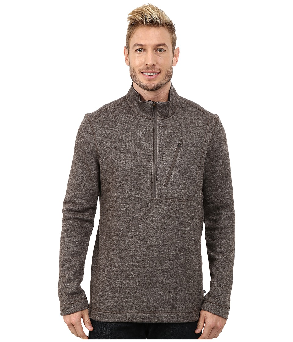 Toad&Co - Outbound 1/4 Zip (Falcon Brown) Men