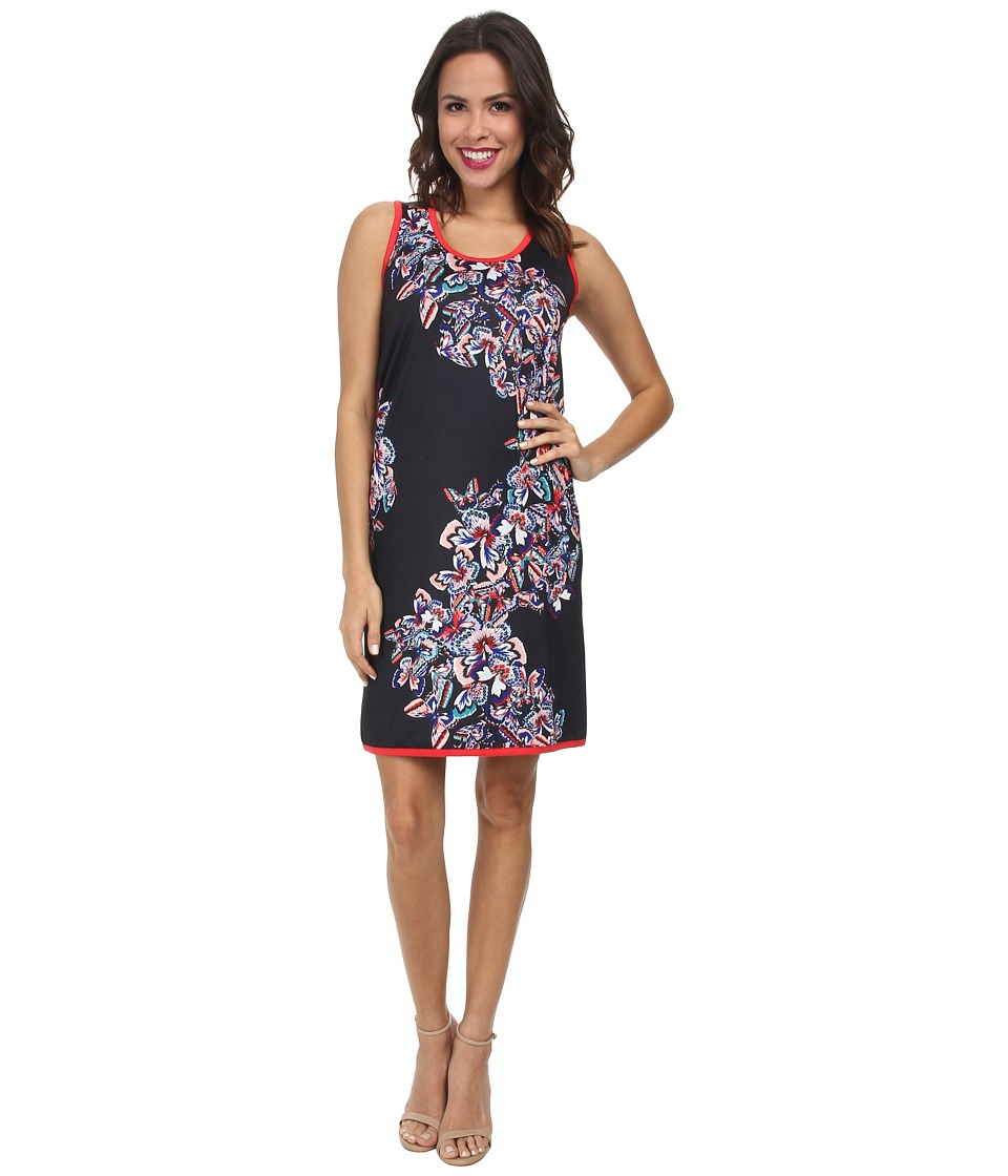 Nally & Millie - Butterfly Sleeveless Dress (Multi) Women's Dress