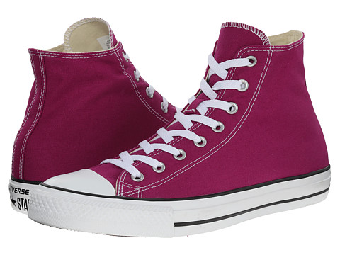 Converse - Chuck Taylor All Star Seasonal Hi (Pink Sapphire) Classic Shoes