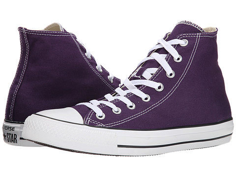 Converse - Chuck Taylor All Star Seasonal Hi (Eggplant Peel) Classic Shoes