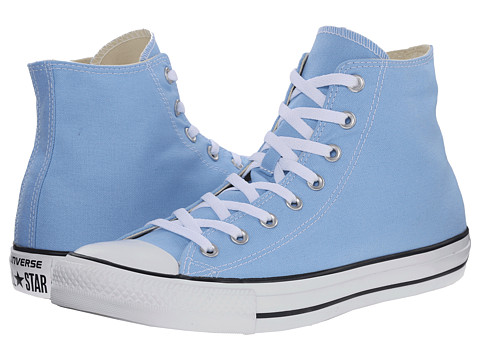 Converse - Chuck Taylor All Star Seasonal Color Hi (Blue Sky) Lace up casual Shoes