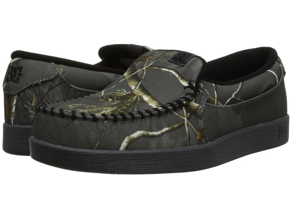 DC - Villain Realtree (Grey) Men's Skate Shoes