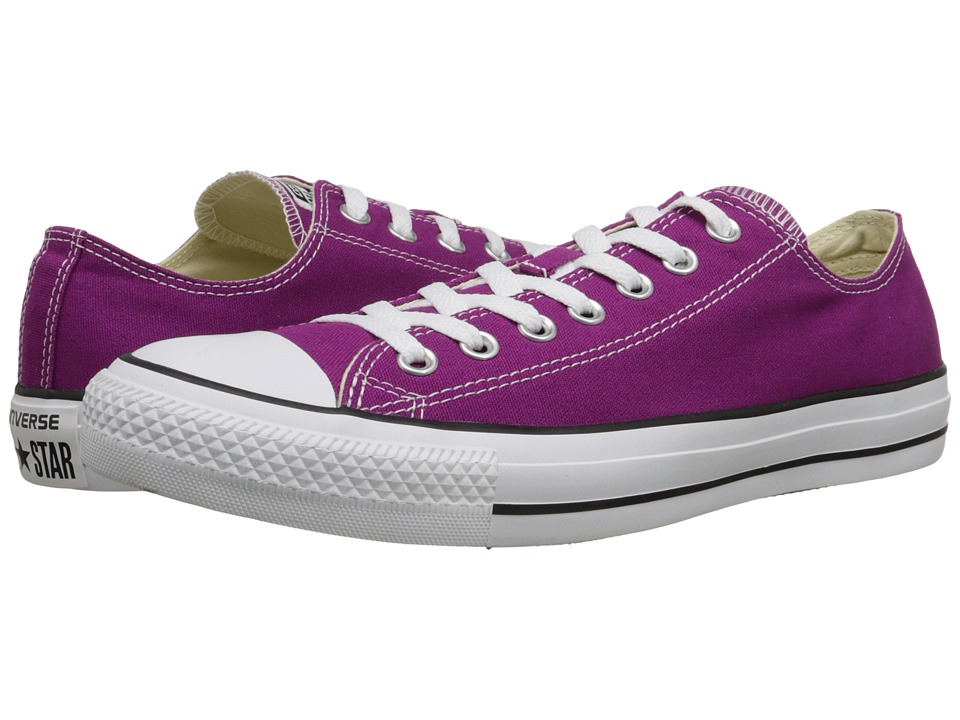 Converse - Chuck Taylor All Star Seasonal Ox (Pink Sapphire) Classic Shoes