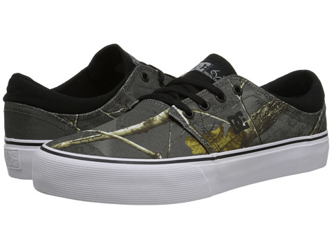 DC - Trase Realtree (Grey) Skate Shoes