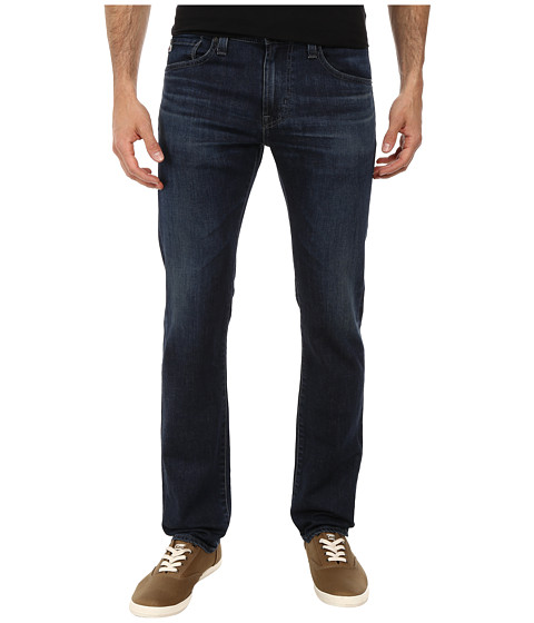 AG Adriano Goldschmied - Matchbox Slim Straight Leg Denim in 2 Years Dark Tide (2 Years Dark Tide) Men's Jeans